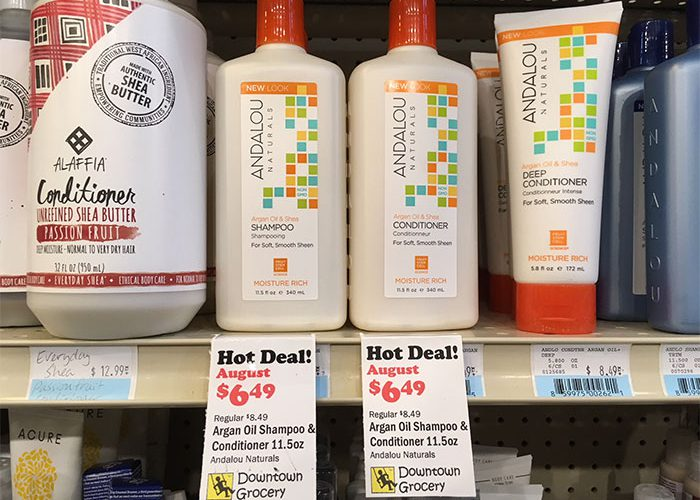 Monthly Hot Deals: Shampoo