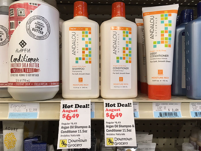 monthly shampoo deal