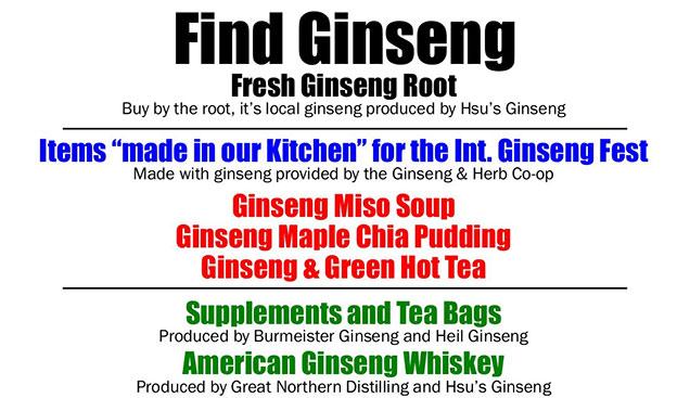 find ginseng